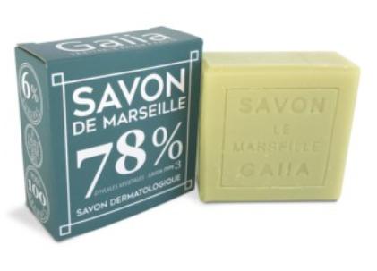 Savon de Marseille olive coco chanvre 100g - 4,90€