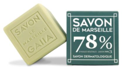 Savon de Marseille olive coco chanvre 250g - 6,90€