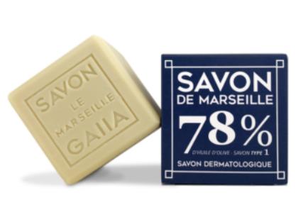 Savon de Marseille pur olive 250g - 6,90€