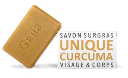 Savon surgras Curcuma 100g - 5,90€